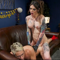 Sherman Maus in 'Kink TS' New Years Bang: Chelsea Marie Frees Butt Slut From Chastity (Thumbnail 19)