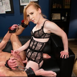 Shiri Allwood in 'Kink TS' Getting Ahead: Shiri Allwood Owns Her Boss, Dale Savage With Her Cock (Thumbnail 2)