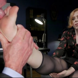 Shiri Allwood in 'Kink TS' Getting Ahead: Shiri Allwood Owns Her Boss, Dale Savage With Her Cock (Thumbnail 5)