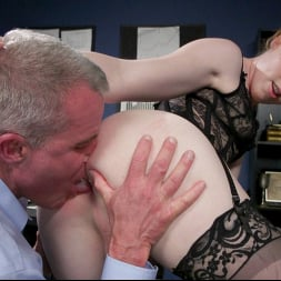 Shiri Allwood in 'Kink TS' Getting Ahead: Shiri Allwood Owns Her Boss, Dale Savage With Her Cock (Thumbnail 9)