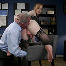 Shiri Allwood in 'Kink TS' Getting Ahead: Shiri Allwood Owns Her Boss, Dale Savage With Her Cock (Thumbnail 10)