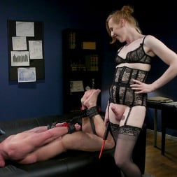 Shiri Allwood in 'Kink TS' Getting Ahead: Shiri Allwood Owns Her Boss, Dale Savage With Her Cock (Thumbnail 11)
