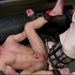 Shiri Allwood in 'Kink TS' Getting Ahead: Shiri Allwood Owns Her Boss, Dale Savage With Her Cock (Thumbnail 14)