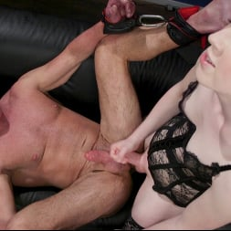 Shiri Allwood in 'Kink TS' Getting Ahead: Shiri Allwood Owns Her Boss, Dale Savage With Her Cock (Thumbnail 16)