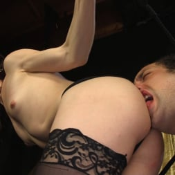 Stefani Special in 'Kink TS' doms and fucks DJ, her willing handcuffed slave (Thumbnail 9)