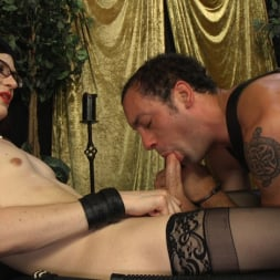 Stefani Special in 'Kink TS' doms and fucks DJ, her willing handcuffed slave (Thumbnail 16)