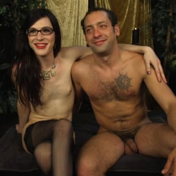 Stefani Special in 'Kink TS' doms and fucks DJ, her willing handcuffed slave (Thumbnail 23)