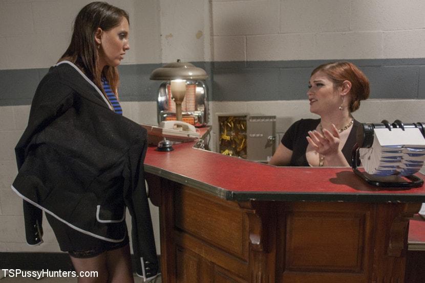 Kink TS 'Haunted Hotel - TS Tiffany Star fucks the Spooked Guest!' starring Tiffany Starr (Photo 1)