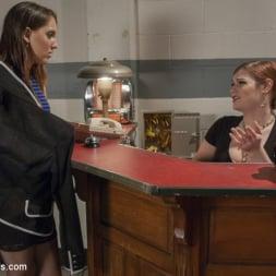 Tiffany Starr in 'Kink TS' Haunted Hotel - TS Tiffany Star fucks the Spooked Guest! (Thumbnail 1)