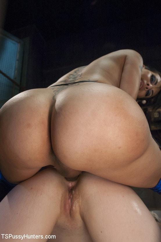 Kink TS 'Foxxy Takes Another - Turning Ella Nova into her cock Slut' starring TS Foxxy (Photo 9)