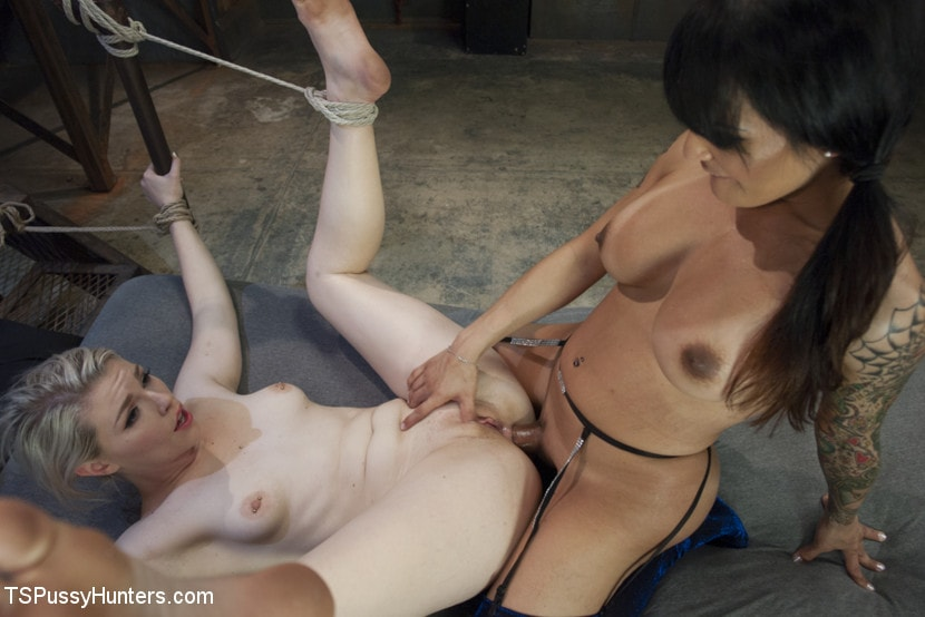 Kink TS 'Foxxy Takes Another - Turning Ella Nova into her cock Slut' starring TS Foxxy (Photo 11)