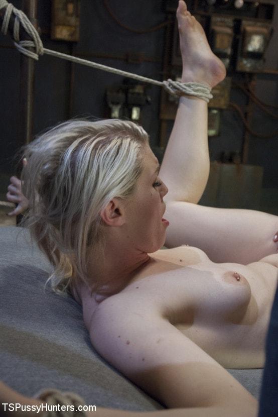 Kink TS 'Foxxy Takes Another - Turning Ella Nova into her cock Slut' starring TS Foxxy (Photo 12)
