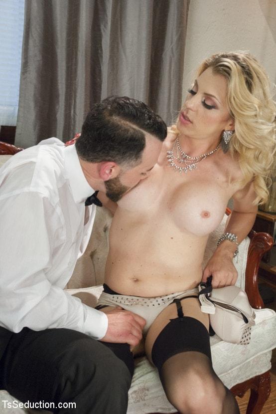 Kink TS 'Mistress Tyra Scott Humiliates and Fucks a VERY Tight Ass Man slave' starring Tyra Scott (Photo 4)