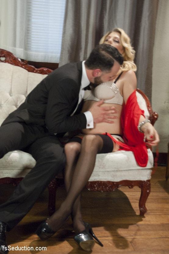 Kink TS 'Mistress Tyra Scott Humiliates and Fucks a VERY Tight Ass Man slave' starring Tyra Scott (Photo 6)