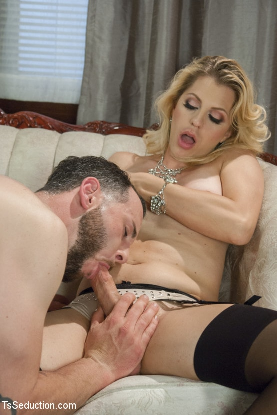 Kink TS 'Mistress Tyra Scott Humiliates and Fucks a VERY Tight Ass Man slave' starring Tyra Scott (Photo 8)