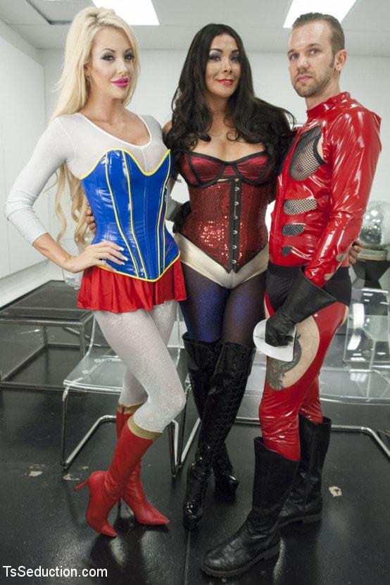 Kink TS 'THE LEAGUE OF EXTRAORDINARY TRANSSEXUALS: PART 1 SUPER HERO FEATURE' starring Vaniity (Photo 2)
