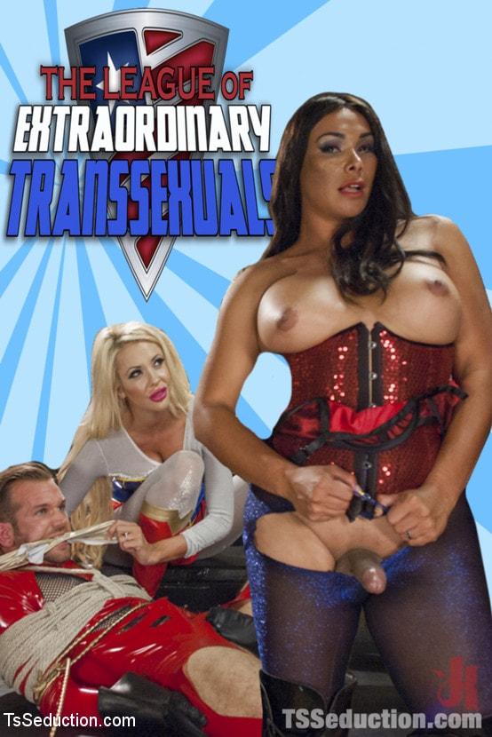 Kink TS 'THE LEAGUE OF EXTRAORDINARY TRANSSEXUALS: PART 1 SUPER HERO FEATURE' starring Vaniity (Photo 17)