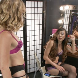 Venus Lux in 'Kink TS' Backstage Cat fight turns into hard core TS cock sucking and fucking (Thumbnail 1)