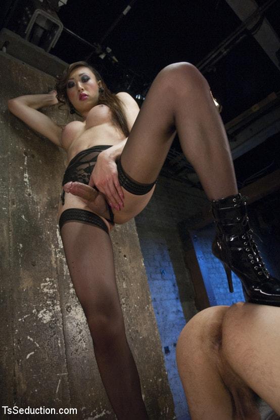 Kink TS 'BONUS VENUS LUX POV SHOOT - SHE FUCKS YOU!' starring Venus Lux (Photo 2)