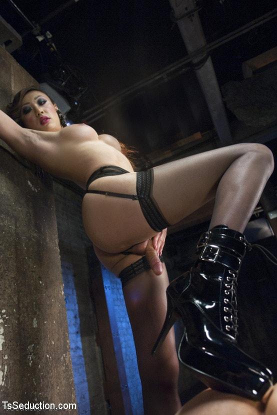 Kink TS 'BONUS VENUS LUX POV SHOOT - SHE FUCKS YOU!' starring Venus Lux (Photo 14)