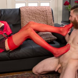 Venus Lux in 'Kink TS' Delivery Man Worships Feet and Gets Fucked (Thumbnail 3)