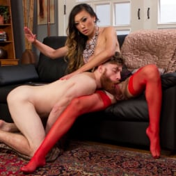 Venus Lux in 'Kink TS' Delivery Man Worships Feet and Gets Fucked (Thumbnail 10)