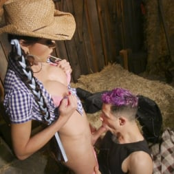 Venus Lux in 'Kink TS' Earn Your Keep: Venus Lux's Country Barn Seduction (Thumbnail 9)
