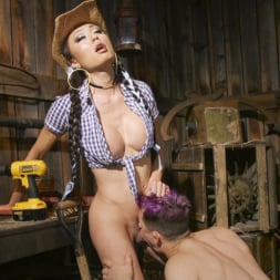 Venus Lux in 'Kink TS' Earn Your Keep: Venus Lux's Country Barn Seduction (Thumbnail 14)