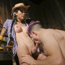 Venus Lux in 'Kink TS' Earn Your Keep: Venus Lux's Country Barn Seduction (Thumbnail 15)