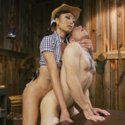 Venus Lux in 'Kink TS' Earn Your Keep: Venus Lux's Country Barn Seduction (Thumbnail 21)