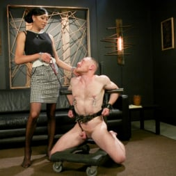 Venus Lux in 'Kink TS' Obedient Boy: Venus Lux Torments and Fucks Her Delivery Boy (Thumbnail 1)