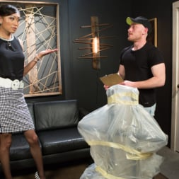 Venus Lux in 'Kink TS' Obedient Boy: Venus Lux Torments and Fucks Her Delivery Boy (Thumbnail 2)