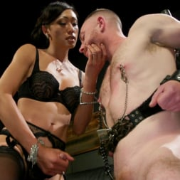 Venus Lux in 'Kink TS' Obedient Boy: Venus Lux Torments and Fucks Her Delivery Boy (Thumbnail 4)