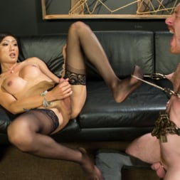 Venus Lux in 'Kink TS' Obedient Boy: Venus Lux Torments and Fucks Her Delivery Boy (Thumbnail 6)