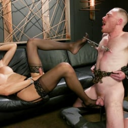 Venus Lux in 'Kink TS' Obedient Boy: Venus Lux Torments and Fucks Her Delivery Boy (Thumbnail 7)