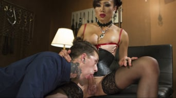 Venus Lux in 'Sensual Domme Venus Lux Gets Worshiped and Fucks Her Obedient Slave'