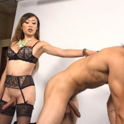 Venus Lux in 'Kink TS' Breaks In The Newbie On Her Solid Cock (Thumbnail 26)